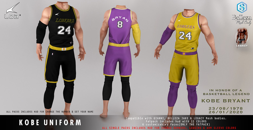 [LOB] KOBE UNIFORM