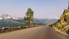 Going-To-The-Sun Road in Montana's Glacier National Park