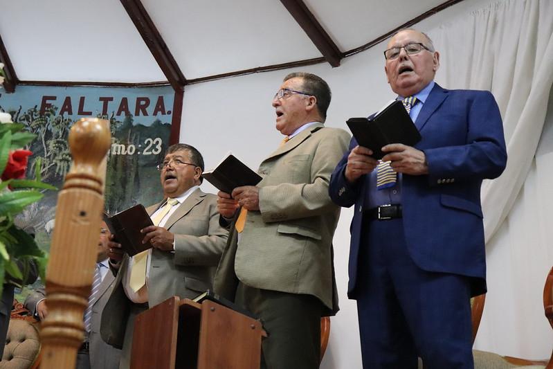 """""""Gozosos en el Señor"""" Culto día Jueves en Iglesia de San Clemente por 111ª Conferencia IMPCH"""