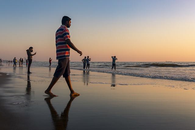 Marina Beach, Chennai, 2020