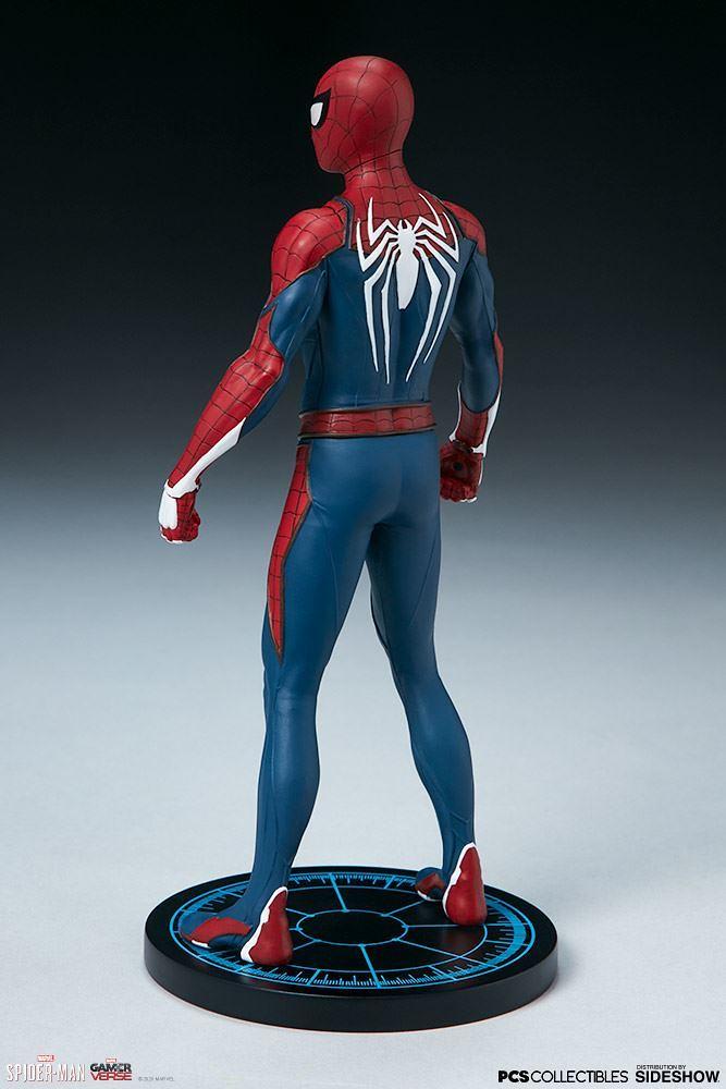 Pop Culture Shock《漫威蜘蛛人》蜘蛛人 - 高級戰衣 Spider-Man - Advanced Suit 1/10 比例全身雕像