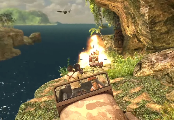 Uncharted Drake's Fortune - Jeep Chase