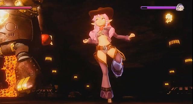 キリンとアニカ-ダンス騎乗位