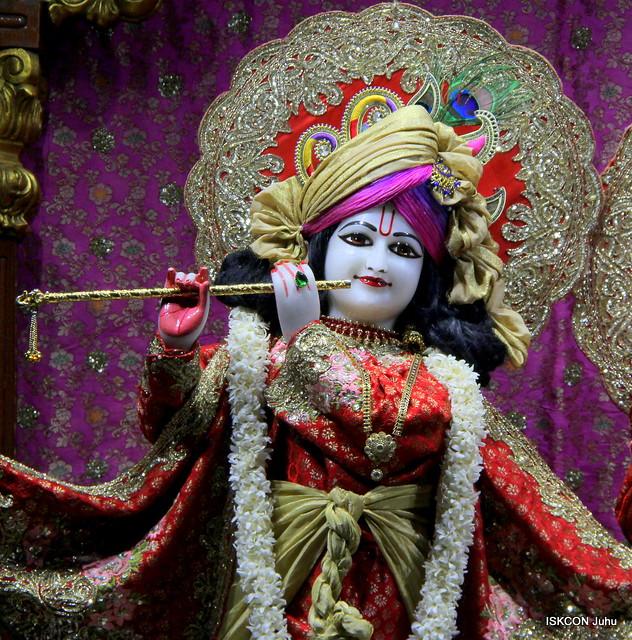 ISKCON Juhu Mangal Deity Darshan on 19th Feb 2020