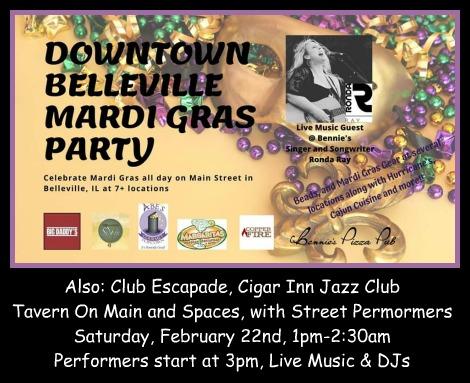 Belleville Mardi Gras Party 2-22-20