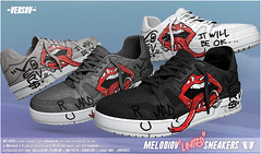 [ Versov //​ ] MELODIOV LIMITED EDITION sneakers available at MAN CAVE