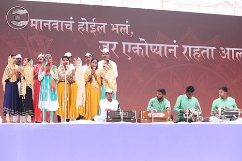 Marathi Geet by Uma Kothe Ji and Sathi, Vashind MH