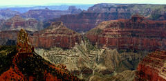 Point Imperial - Grand Canyon North Rim - Grand Canyon Nationalpark,Arizona - Panorama