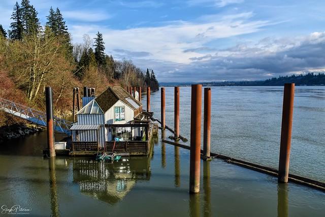 Fraser River Floating Home