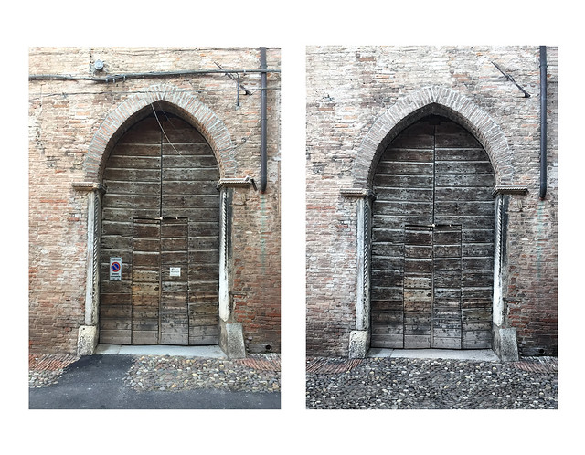 Prima e dopo: restauro fotografico