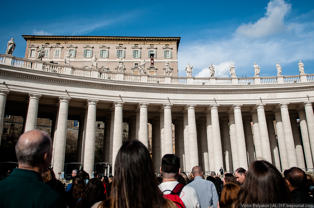 Ангелус в Ватикане