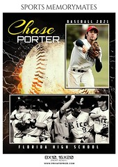 Baseball Sports Memorymate Photography Template