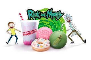 酸黃瓜瑞克再度出動!Krispy kreme  x《瑞克和莫蒂》推出「Pickle Rick 甜甜圈」等聯名商品(Rick and Morty x Krispy Kreme Doughnuts)