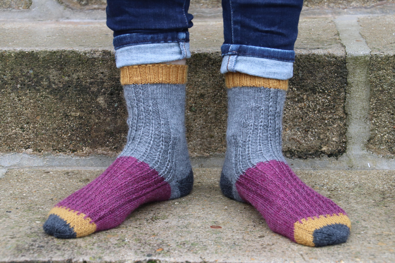 Les chaussettes Skyline