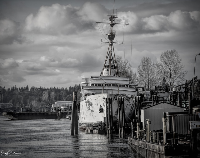 Old Ship - Fraser River (Haney) Waterfront
