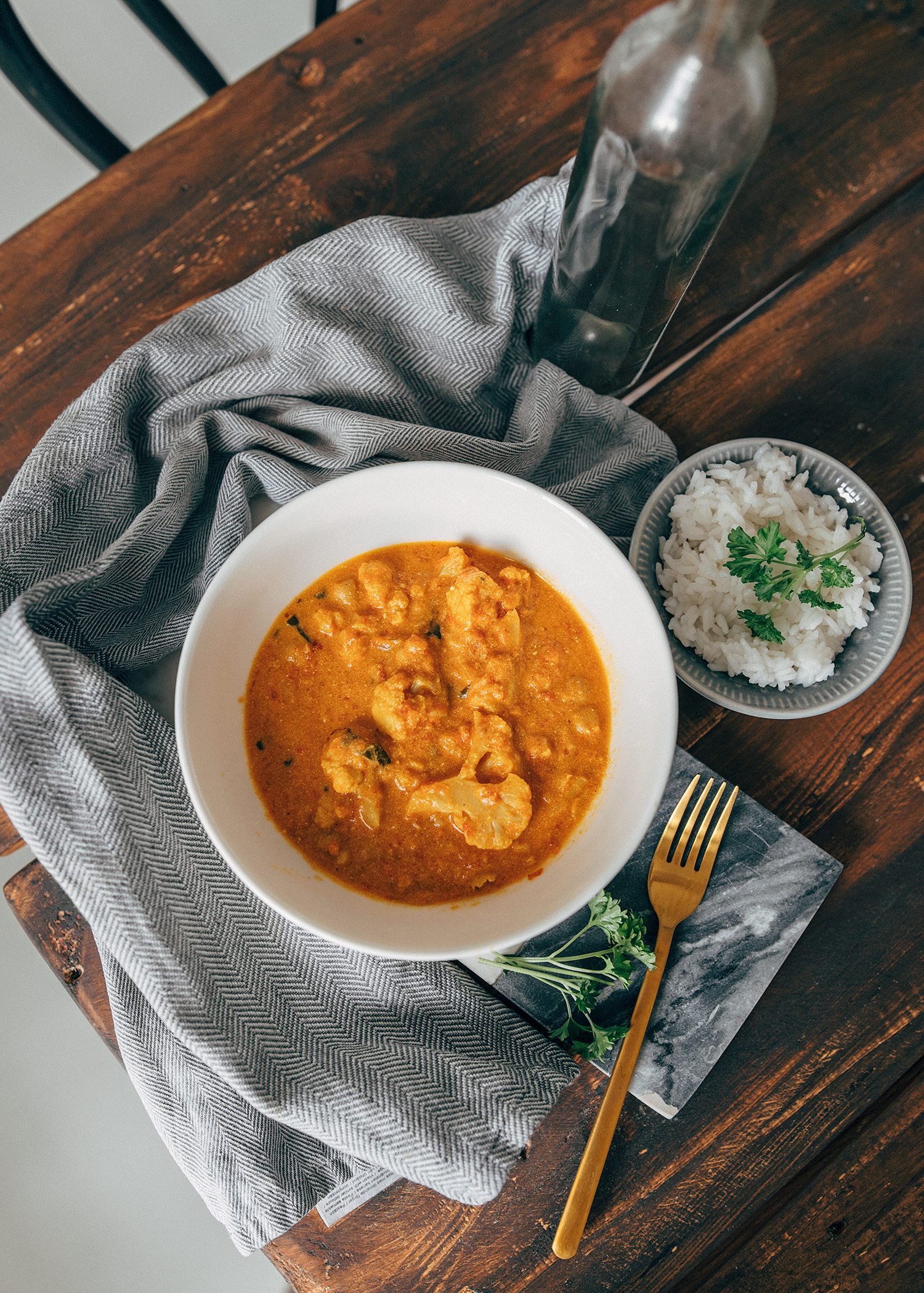 Kukkakaali-kikhernecurry
