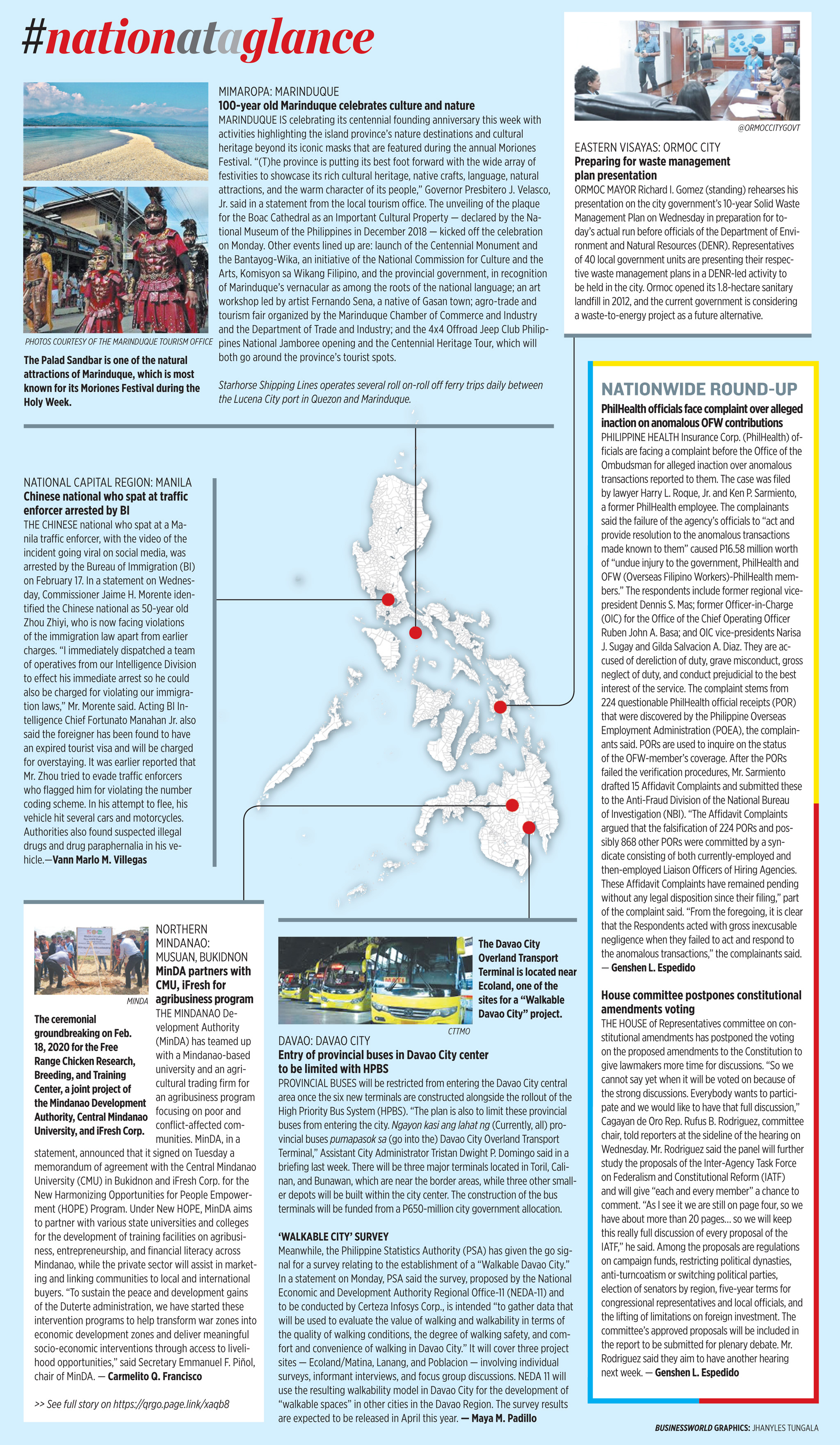 Nation at a Glance — (02/20/20)