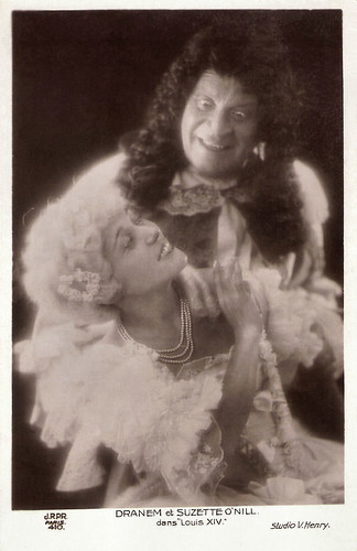Dranem and Suzette O'Nill in Louis XIV (1929)