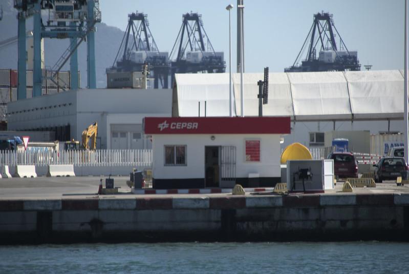 Gasolinera portuaria