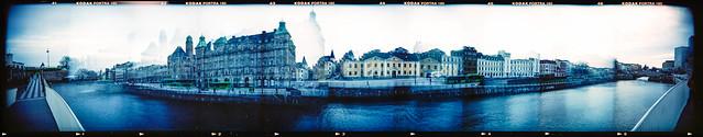 Suellshamnen Malmö (Holga 120SF)