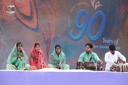 Anuja Sapna Ji and Sathi, Aurangabad MH