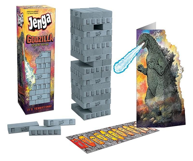 怪獸之王闖入桌遊戰場!! Usaopoly × 東寶《哥吉拉》主題地產大亨&疊疊樂 MONOPOLY®: Godzilla & JENGA®: Godzilla Extreme Edition