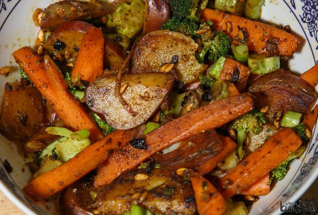 Red Potatoes & Veggies