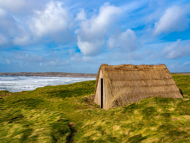 Freshwater West Seaweed Drying Hut.Pembrokeshire.