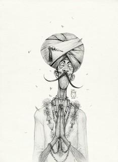 Pencil Drawing Prayer