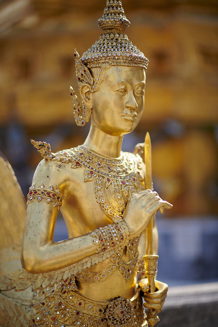 Kinnari #2 ~ Palais Royal de Bangkok [ Thaïlande ]