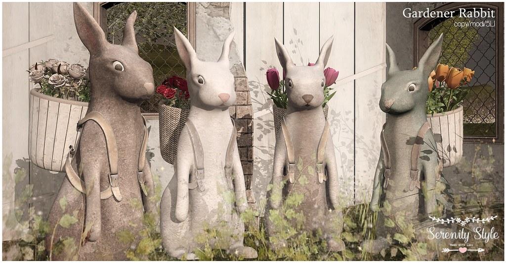 Serenity Style-Gardener Rabbit