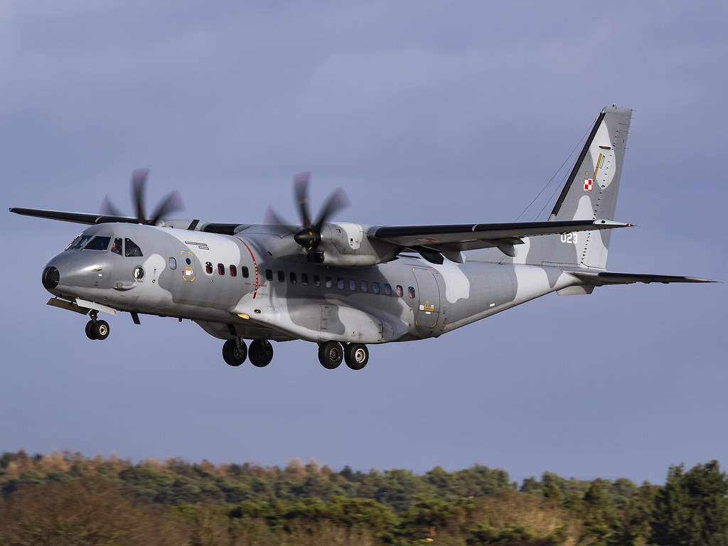 Polish Air Force | CASA C-295M | 023