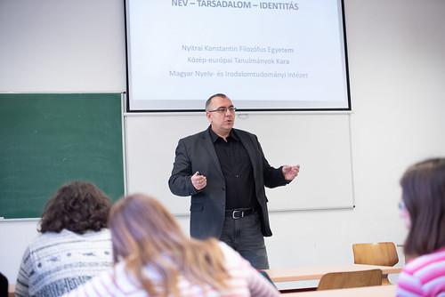 Név - társadalom - identitás - Bauko János előadása