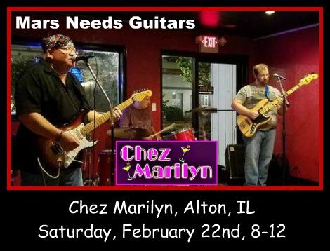 Mars Needs Guitars 2-22-20