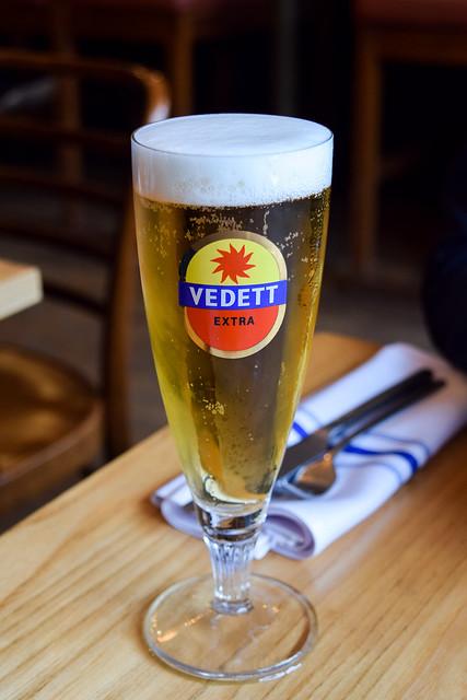 Vedett Lager at Little French, Bristol