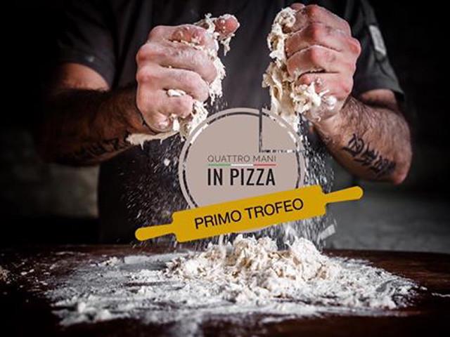 trofeo quattro mani in pizza