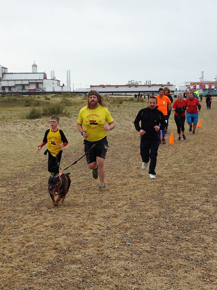 #2 two parkrunners one dog