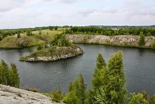 Fosforiidimaa / Phosphate mining area in Estonia