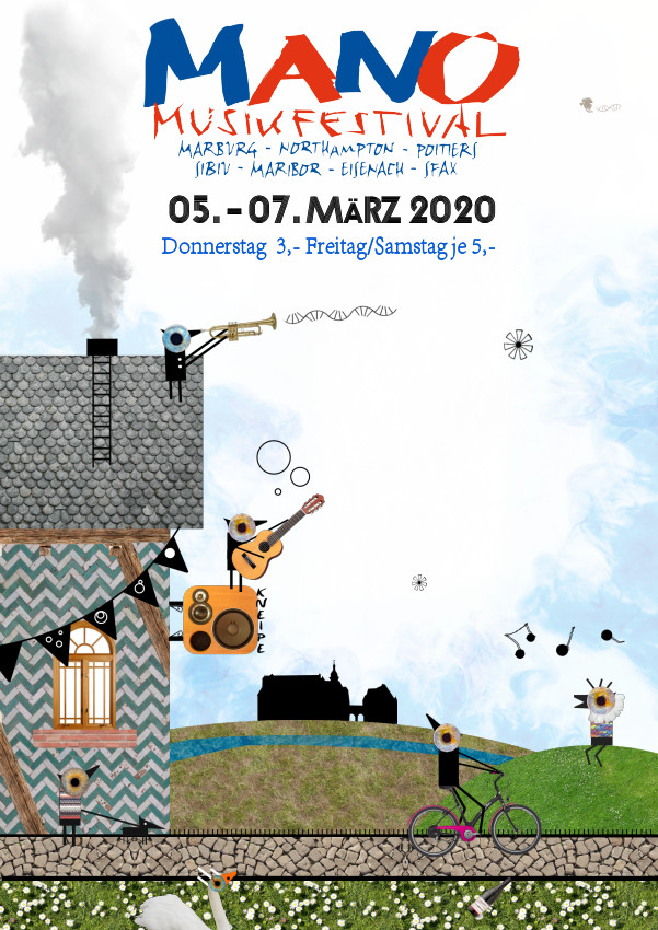 MaNo Festival - Plakat A5