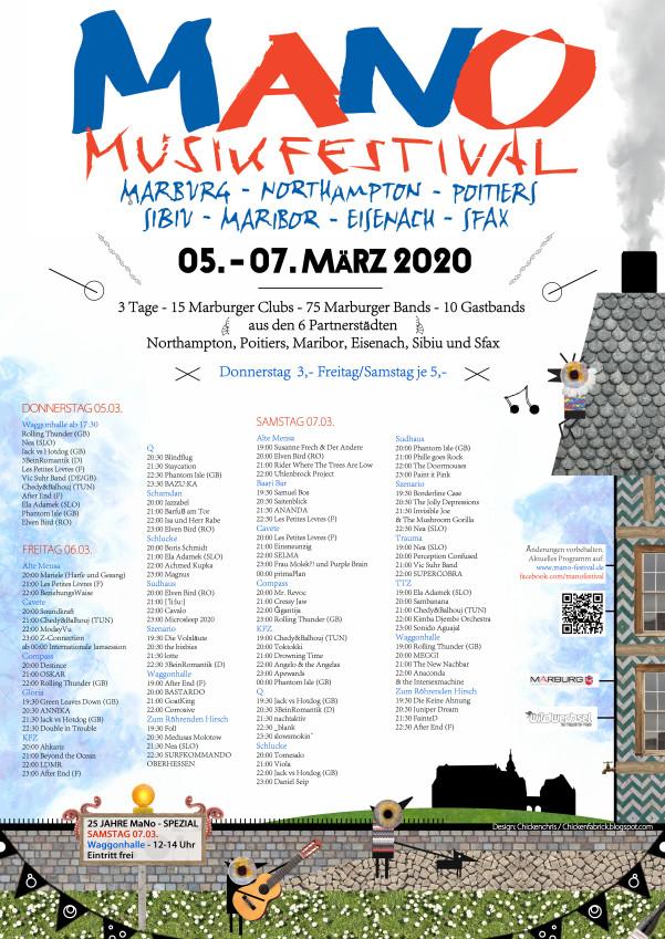 MaNo Festival - Plakat A1