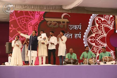 Jagat Geetkar Ji and Sathi, Delhi