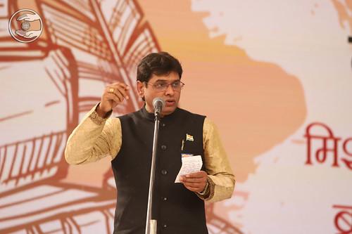 Lalit Kaushik Ji presented Hindi Kavita, New Panvel MH