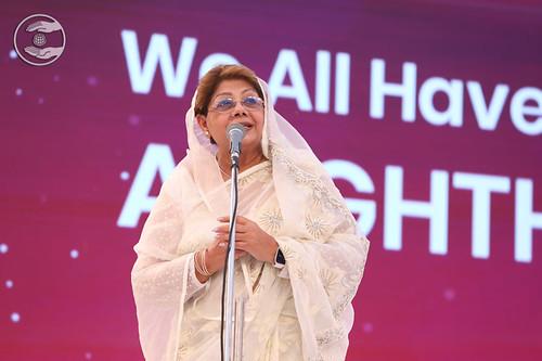 Harlovleen Ji presented speech in Punjabi USA