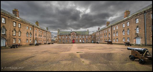 Parade ground Berwick upon Tweed Barracks DSC_0290
