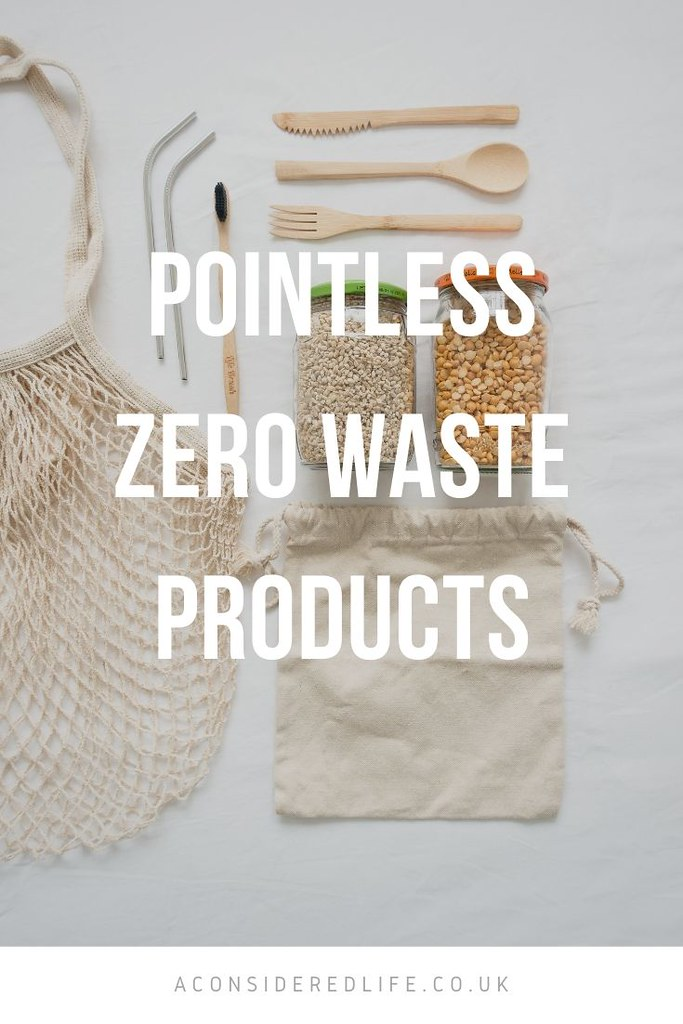 Unnecessary Zero Waste Purchases