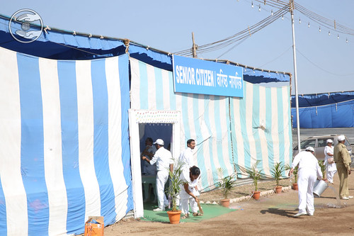 A view of Senior Citizen Camp
