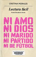Cristina Morales, Lectura fácil