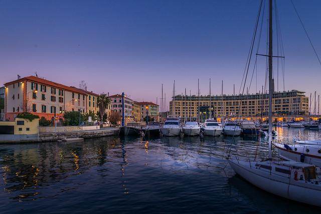 Savona harbour, Liguria, Italy