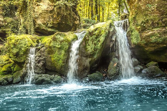 Chute d'eau au Luxembourg / Waterfall landscape
