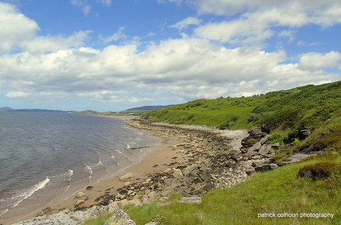 beach donegal inishowen scenery landscape ireland nature loughswilly buncrana